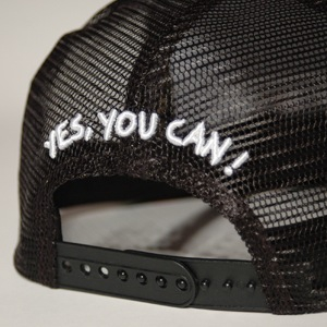 7UNION/ CAN I KICK IT MESH CAP label