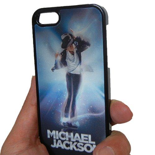 マイケル ジャクソン iphone5/5s 3D ケース label