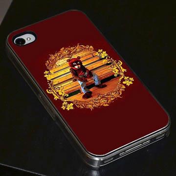 カニエ・ウェスト 大学中退 iphone5ケース<br />KANYE WEST IPHONE5 CASE
