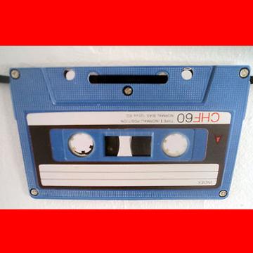 カセットテープ 壁飾り label