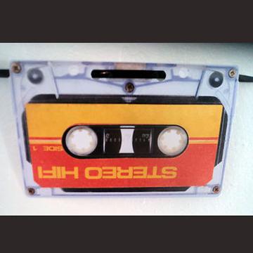 カセットテープ 壁飾り back