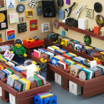レゴ ピアス<br />LEGO PIAS 4 back