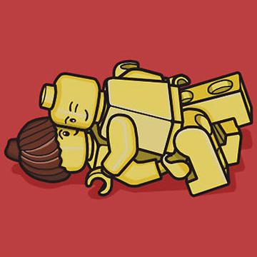 レゴ ピアス<br />LEGO PIAS 1 back