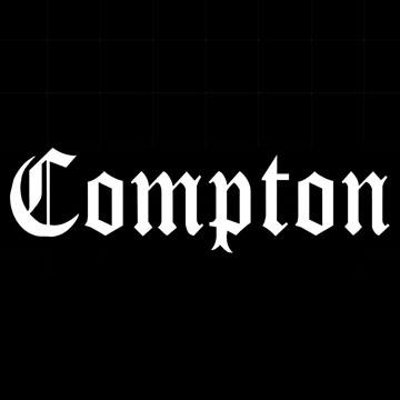 コンプトン カッティングシート<br />Compton vynal sticker
