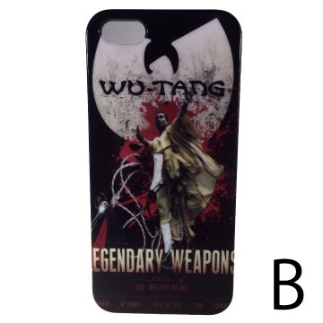 ウータン・クラン iphone 5 ケース <br /> wu-tang clan iphone 5 case back