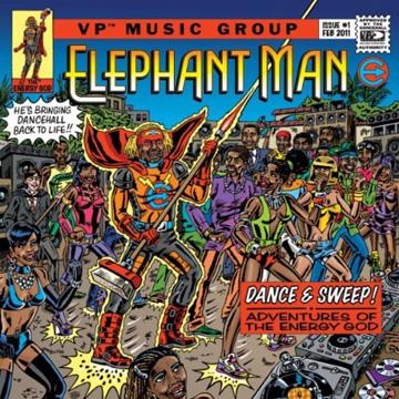VP RECORDS スリップマット label