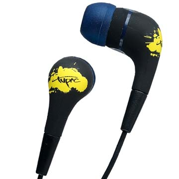 2PAC イヤホン<br />In-Ear Clam Shell Section 8 (2Pac) back