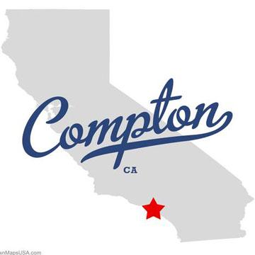 コンプトン カッティングシート<br />Compton vynal sticker back