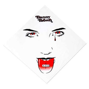 ダニー・ブラウン XXX バンダナ<br />danny brown bandana