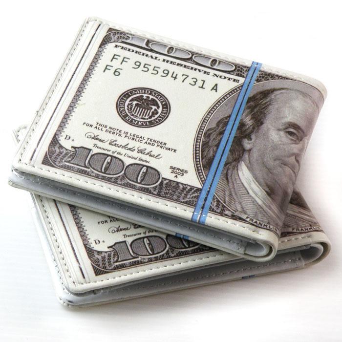 100$ 札束 財布